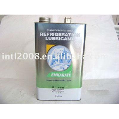 5l emkarate petróleo rl68h rl22 rl32 rl46 lubrificante de refrigeração compressor petróleo 99.9% pureza