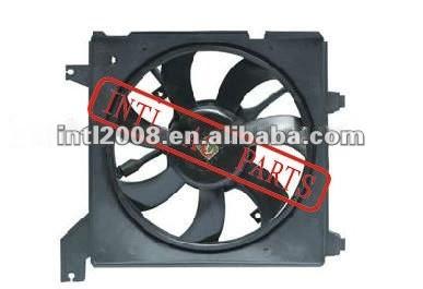 AC RADIATOR FAN FOR HYUNDAI ELANTRA 2002-2003 OEM#25386-2D000 25350-2D000