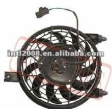 Ventilador do condensador/ventilador do radiador para toyota vios 03'