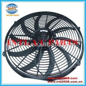 universal Condenser fan cooling fan 16 inch 12V/24V electric motor fan