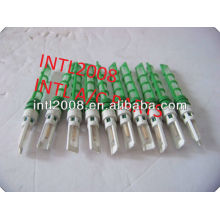 Ac auto válvula do acelerador expansor do tubo tubo de orifício de um/c dispositivo de expansão uma/c orifício do tubo verde