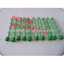 Ac auto válvula do acelerador expansor do tubo tubo de orifício de um/c dispositivo de expansão uma/c filtro kit tela verde