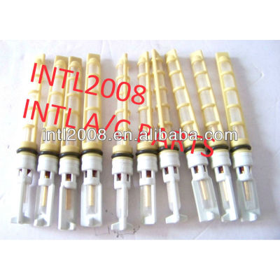 Auto ar condicionado tubo de orifício / válvula do acelerador / T-top Auto A / C tubo de orifício cor amarela de alta qualidade
