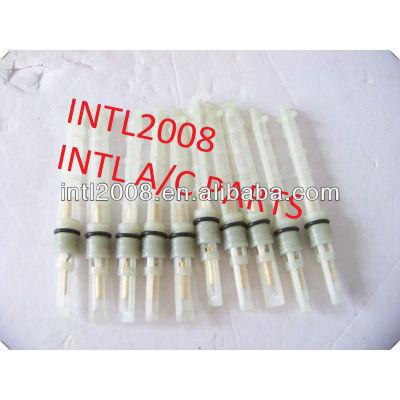 Cor branca auto condicionador de ar do orifício do tubo/válvula do acelerador/t-top auto um/c tubo de orifício