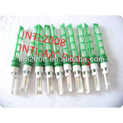 Cor verde auto condicionador de ar do orifício do tubo/válvula do acelerador/t-top auto um/c orifício do tubo de alta qualidade