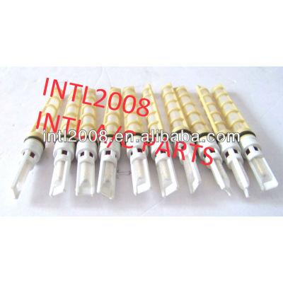 Amarelo cor auto um/c tubo de orifício/válvula do acelerador/t-top auto um/c orifício do tubo de alta qualidade