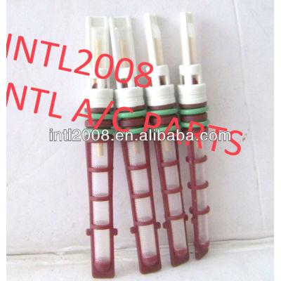 Auto condicionador de ar do orifício do tubo/válvula do acelerador/t-top auto um/c orifício do tubo de alta qualidade de cor vermelha