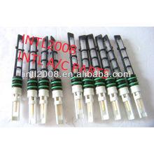Alta qualidade preto auto condicionador de ar do orifício do tubo/válvula do acelerador/t-top auto um/c tubo de orifício