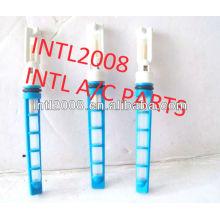 Nova china azul auto condicionador de ar do orifício do tubo/válvula do acelerador/t-top auto um/c tubo de orifício