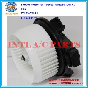 87103-52141 8710352141 HVAC Blower Motor for Toyota Yaris/SCION XD