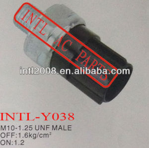 Pressure Switches M10-1.25 UNF MALE A/C Pressure Sensor Air Conditioning Transducer Switch