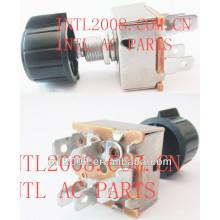 Interruptor do ventilador( rotativo) 5 dente cair em unidades 3 velocidade 71r1150 6516690 sw 2400c uac ac um/c condicionador de ar condicionado switch
