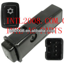 Condicionador de ar a/c switch( botão) para toyota corolla/geo prisma 84660-12180 8466012180 sobre/off carro um/c