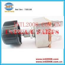 Red dot 5 terminal rotary switch off- baixo- med- alta- 71r1150 ventilador interruptor