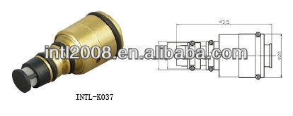 A volkswagen skoda saab rover opel denso 5sl/5sa/7sb/7sbu16c um/c compressor da válvula de controle