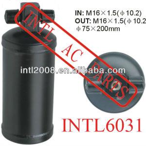 Ar condicionado ac secador do receptor uma/c receptor secador/acumulador 75x200mm filtro secador