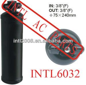 Ar condicionado ac secador do receptor uma/c receptor secador/acumulador 75x240mm filtro secador