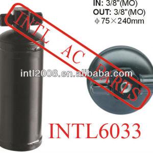 Ar condicionado ac secador do receptor uma/c receptor secador/acumulador 75x240mm filtro secador 3/8