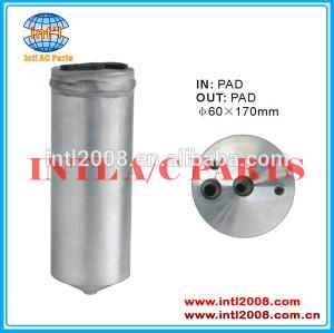 Ar condicionado ac secador do receptor uma/c receptor secador/acumulador 60x170mm filtro secador