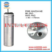 Um/c secador do receptor uma/c secador de receptores acumulador para mazda 2 2011 2012 45x170mm d65161501a 10120c rd