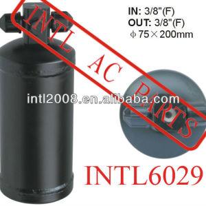 A / c receptor secador secador acumulador para auto ar condicionado 75 X 200 MM