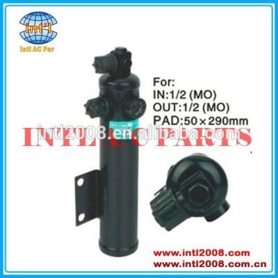 Tapetesdecarro: 50*290mm ac auto secador do receptor para caminhão mercedes benz de embalagem: 30cm*14cm*8cm