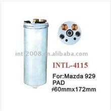 ar condicionado secador do receptor para mazda 929 tapetesdecarro