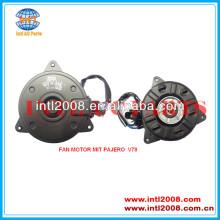 Mr568284 mr360801 mr500878 mr500879 mr500880 168000-7710 condensador do ventilador do motor para mitsubishi pajero v68 v73 v75 v78 v97