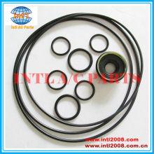 Toyota coaster 10p30c/10p30b auto um/c compressor kit de reparação o- ring& vedação do eixo