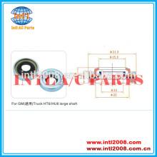 Grande eixo selo/lip seal/selo do óleo usado para gm/caminhão ht16/hu6 compressor da série