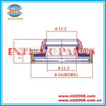 Shafe selo para calsonic cr14/daewoo v5/delphi cvc/denso/gm/harrison v7/sanden px/seiko- seiki/zexel dcs17 compressor da série