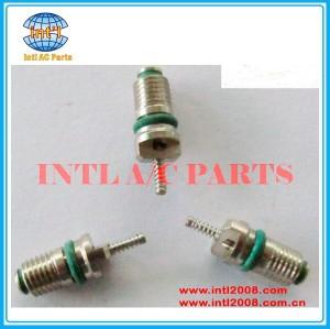 Auto ar condicionado compressor ac verde núcleo de válvula r134a 7*20mm universal
