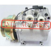 Mr201199 akc200a203f co 10448zi msc90c auto compressor da ca para 1997-2003 mitsubishi colt lancer mirage com 5pk 104mm polia