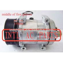 Sd7h15 709 pv10 polia ac compressor sanden 7h15 709 auto um/c compressor sanden709 7h15 marca novo