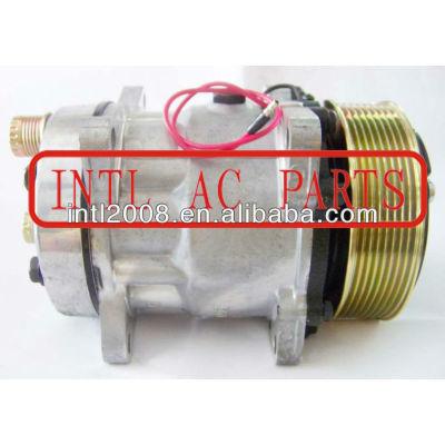 Sd7h13 706 8902 pv8 polia ac compressor sanden 7h13 706 8902 auto um/c compressor sanden706 sd706 7h13