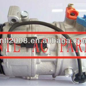 Denso 5se12c auto compressor da ca para a bmw 6pk 447190-6260 447190-6261 4471809591 4471809592 4471906255 4471906260