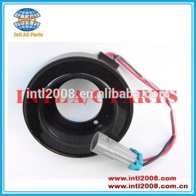 Sanden ac 6v12 kompressor embreagem bobina 12 v para sd6v12 compressor 27.6mm( h) made in china