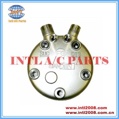 Sanden fg sd508 510 5h14 vertical 8 e 10 o- ring compressor cabeça traseiro tampa traseira