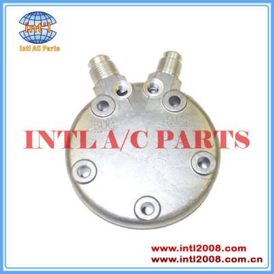 sanden b traseiro cabeça sd508 510 vertical 8 e 10 flare compressor tampa traseira