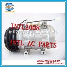 4c3519d629ab auto ar condicionado compressor bomba com 8 pk denso 10p15 para john deere l200