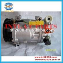 9660555280 1332f sanden 7c16 carro compressor de ar condicionado bomba para citroen e peugeot c5 407/607 2008-2014