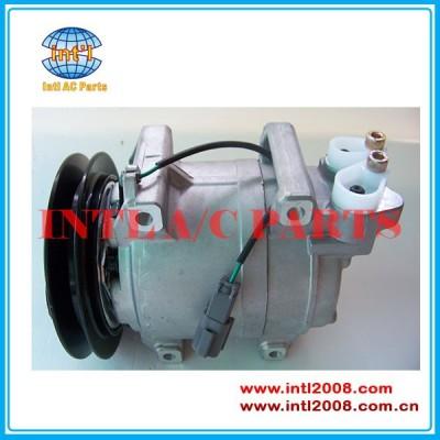 W/embreagem um/c bomba de compressor para hitachi guindaste/john deere- dks15d 506012-2330
