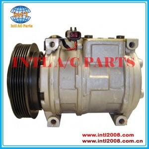 Auto pv6 um/c compressor denso 10pa17c para chrysler 4677205/4677205ab/55035782