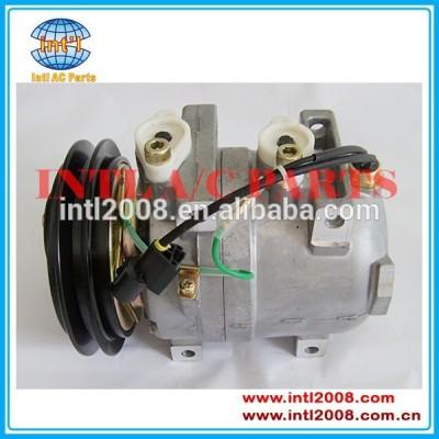 Zexel dkv-14c 1ga sulcos de ar condicionado compressor a5000674001 811446008 para komatsu hyundai
