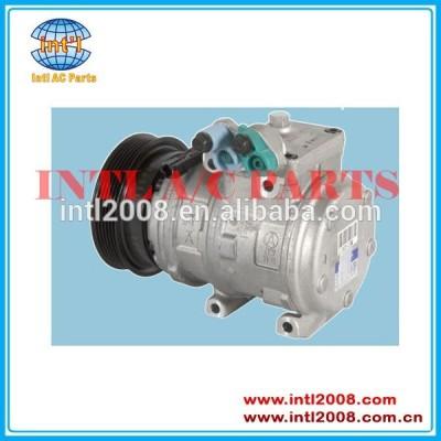 Pv6 977012d600 auto ac compressor parte para hyundai tucson 2.0 04-08 denso 10pa17c ar condicionado compressor