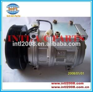 Pv8 471-0441 77375 447100-2380 ac compressor denso 10pa17c para john deere