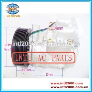 Pv9 447190-5500 5412300111 447100-6381 denso 10pa15c 10pa17c compressor ac para caminhões mercedes
