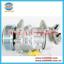 pv6 aircon compressor ac bomba para citroen e peugeot fiat oem 9671456680 9671453780