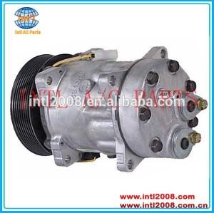24v 8pk sulcos compressor ac para volvo caminhões camion condicionador de ar da bomba 3962650,8113624