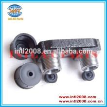 Auto um/compressor c adaptador de montagem para zexel tm grave carros vertical o- ring